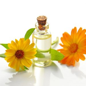 two-yellow-sunflowers-with-clear-glass-bottle-with-cork-lid-932587.jpg